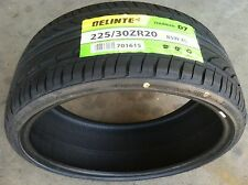 NEW (set of 4) 225 30 20 DELINTE Thunder D7 series ultra high performance tires