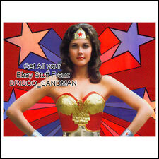 Fridge Fun Refrigerator Magnet LYNDA CARTER PHOTO F - Retro 70s Wonder Woman