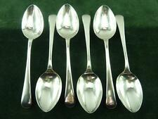 6 Nice Vintage A.E Poston EPNS Dessert Spoons Old English silver plated