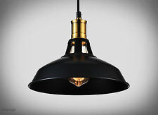 Industrial Retro Vintage Black Pendant Lamp Kitchen Bar Hanging Ceiling Light