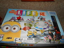 Despicable Me Game of Life Board Game by Hasbro Complete