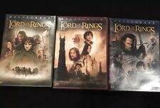 Lord Of The Rings Trilogy DVD Set - 6 Disk, Great Condition!