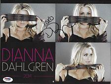 Dianna Dahlgren Signed 2014 Calendar PSA/DNA WWE Tough Enough Miss Supercross