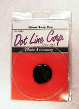 Vintage Dot Line 28mm Snap-on Cap | New | From USA |