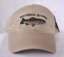 *MADISON RIVER ENNIS MONTANA* Trout Fly Fishing Ball cap hat OURAY embroidered