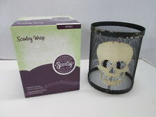 Scentsy Full Wrap for Silhouette Collection Bones Halloween Skull Skeleton NEW!