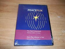 Peace Flix The Real Enjoyment & Zero The Infinite In You by Maharaji DVD NEW