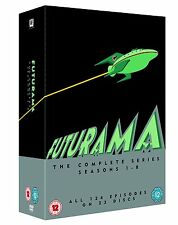 Futurama Season 1-8 Series 1 2 3 4 5 6 7 8 (1 – 8) Region 4 DVD New 23 Discs