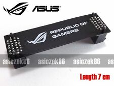 ASUS Republic of Gamers ROG flessibile SLI Bridge 7cm Nero GTX 1080 compatibile