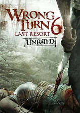 Wrong Turn 6 UNRATED UNCUT BRAND NEW SEALED DVD