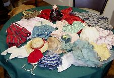 Box Lot Vintage Doll Clothes