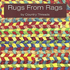 RUGS FROM RAGS Weaving Handwoven Vintage Throw NEW BOOK Table Runner Placemat