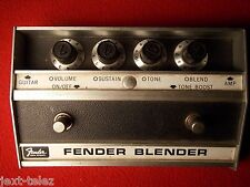 1969 VINTAGE FENDER BLENDER FUZZ OCTAVE BOOST PEDAL EARLY ORIGINAL VERSION