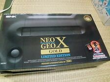 SNK Neo Geo X Gold Limited Edition Console ninja master's NEW UNUSED NOS
