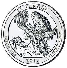 2012 D - El Yunque - Puerto Rico - America The Beautiful