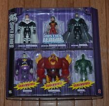 NEW DC Super Heroes Justice League Unlimited 6 pack Doomsday Batman Superman