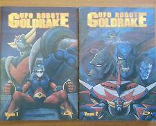 Dynamic Italia Ed. Manga Cult Ufo Robot Goldrake Serie Completa In 2 Vol.