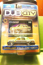 Muscle Machines Dub City Green & Grey Cadillac Escalade EXT, 5 Star Rims C More