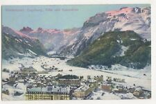 Switzerland, Wintersport, Engelberg, Titlis und Spannorter Postcard, B411