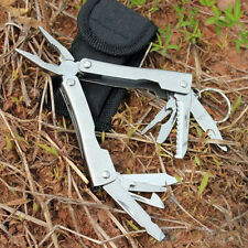9in1 Outdoor Stainless Steel Multi Tool Plier Portable Pocket Mini Camping Kit
