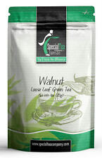 Walnut Tea Loose Leaf Green Tea 1 oz. Includes 10 Free Tea Bags