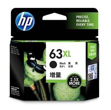 Genuine HP 63 XL High-Yield 63XL Black Ink Cartridge F6U64AN  NEW