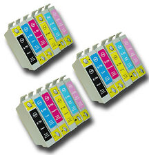 18 T0791-T0796 'Owl' Ink Cartridges Compatible Non-OEM with Epson Stylus 1500W