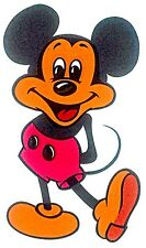 Vintage 70s Mickey Mouse Iron-On Transfer Disney LAST ONE! Super Rare!
