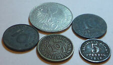 Germany Job lot / Collection Coins Pre Euro From 1920 to 1930 Ref FBC964