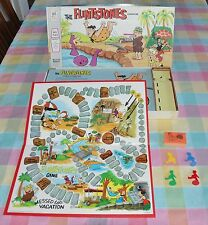 ONE OWNER Vintage 1971 Milton Bradley The Flintstones Board Game ~ Complete
