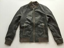 Japan Exclusive - Slim-fitting soft leather bomber jacket by Journal Standard