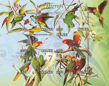 ** Parrots / Birds - s/s Malawi  2011 MNH IMPERF #D099