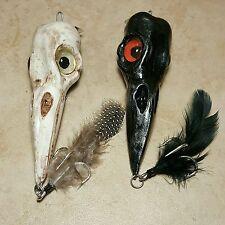 fishing lure striped bass custom crow skull plugs lures