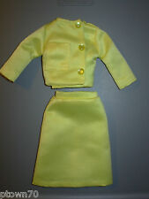 "Jackie Kennedy Franklin Mint ""Vive Jacqui!"" 2 Pc. Yellow Dress Suit MINT Ivy"