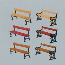 FALLER HO SCALE 1:87 PARK BENCHES (12) | BN | 180443