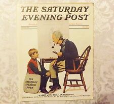Saturday Evening Post 1971 Norman Rockwell, Bob Hope, Disney, Leyendecker, Coke