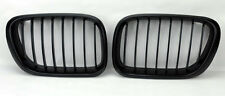 Matte Black Front Hood Kidney Sport Grills Pair FITS BMW X5 E53 00-03