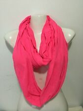 INFINITY SCARF STYLE T SHIRT MATERIAL SOLID COLOR NEON HOTPINK