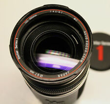 Vivitar Series 1 100-400mm lens for Canon Digitals Beautiful Glass Excellent