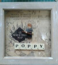 NEW HANDMADE PERSONALISED RON WEASLEY (H POTTER MINI FIGURE PICTURE (FITS LEGO)