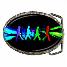 NEW* HOT THE BEATLES Quality Chrome Belt Buckle Gift D01
