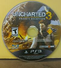 UNCHARTED 3 DRAKE'S DECEPTION (PS3) USED AND REFURBISHED (DISC ONLY) #10918