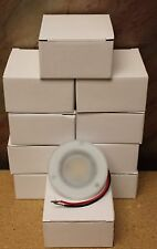 "20 NEW 3.5"" ROUND 2.3W WARM WHITE 12V RV CAMPER MOTORHOME LED CEILING LIGHTS"