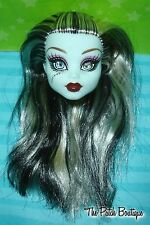 MONSTER HIGH FRANKIE STEIN ORIGINAL FAVORITES REPLACEMENT DOLL HEAD GR84 OOAK