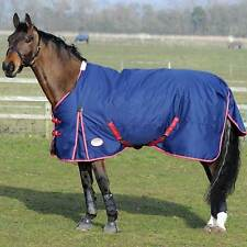 Weatherbeeta Horse Waterproof Turnout Winter Blanket 1200D 86 87 88 Navy Blue