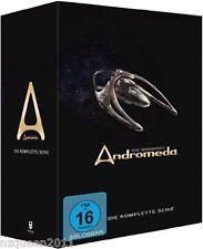Gene Roddenberry's Andromeda - Komplettbox [30 DVDs] Kevin Sorbo * NEU & OVP *