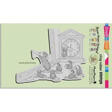 New Stampendous RUBBER STAMP cling House Mouse TEACHER TIME free us ship