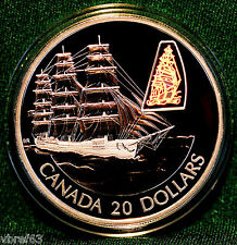 2002 CANADA $20 William Lawrence - ship from Transportation 12-coin series