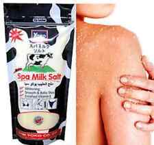 YOKO Spa Milk Salt Bath Vitamin Collagen Whitening Smooth Scrub Skin 300 g.