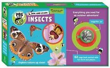 PBS Kids: Look and Learn Insects 3 by Sarah Parvis (2016, Novelty Book)